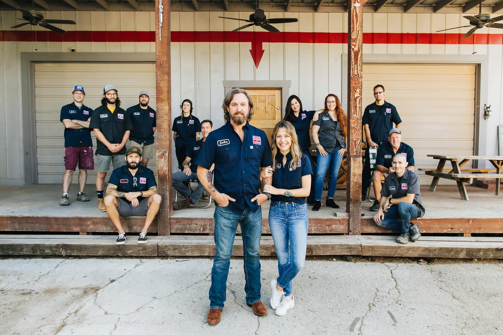 Red River Restoration team photo